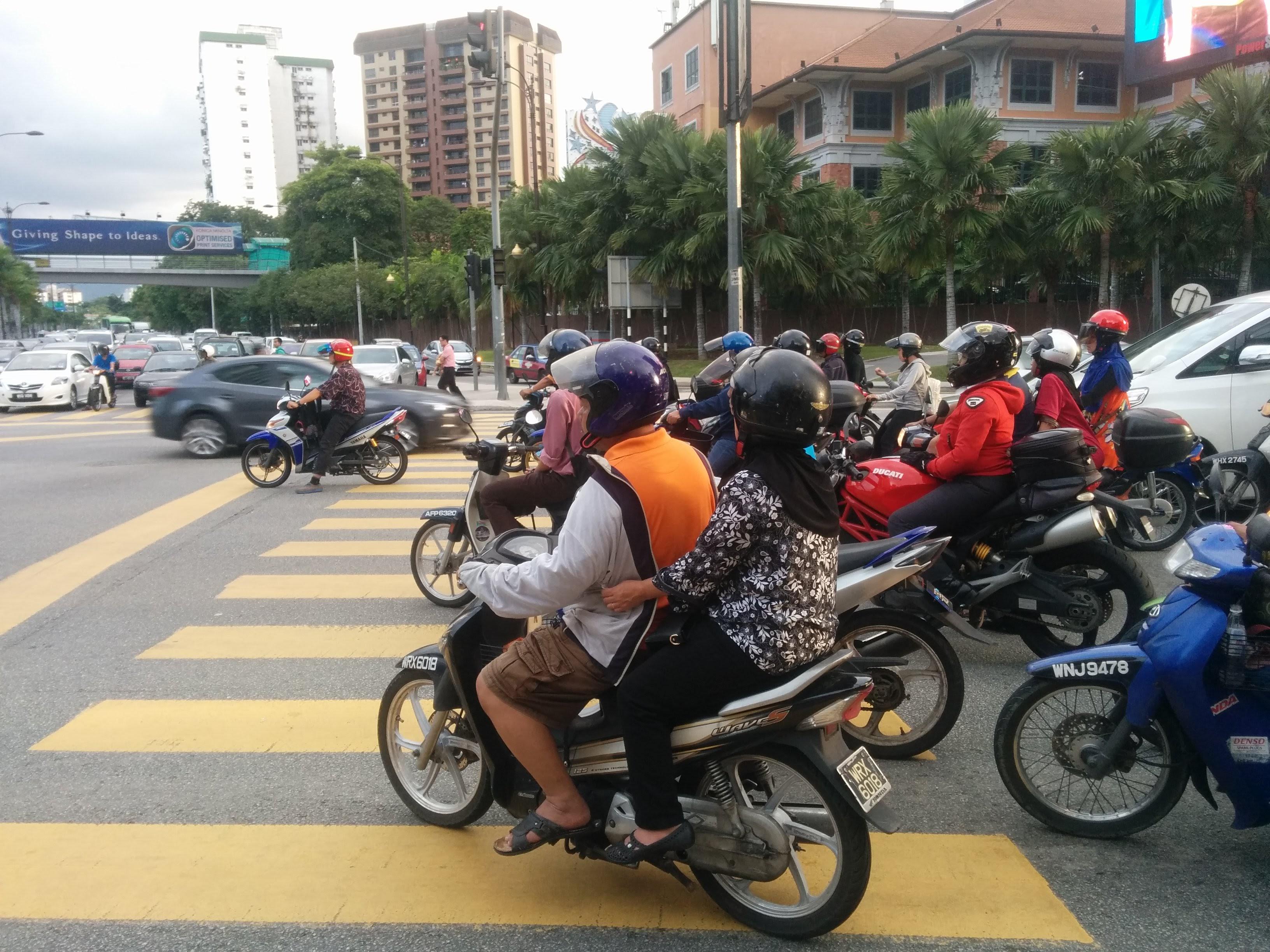 Verkehr in Kuala Lumpur